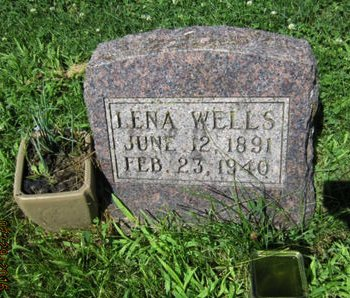 WELLS, LENA - Dallas County, Iowa   LENA WELLS