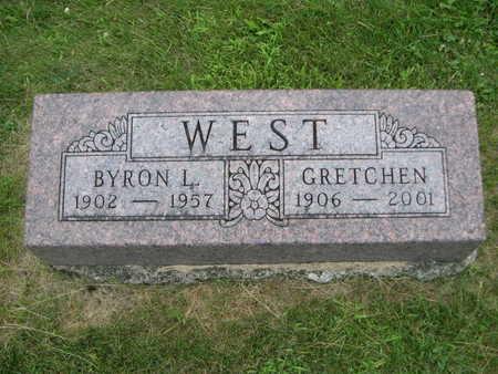 WEST, BYRON L. - Dallas County, Iowa | BYRON L. WEST
