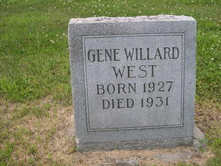 WEST, GENE WILLARD - Dallas County, Iowa | GENE WILLARD WEST