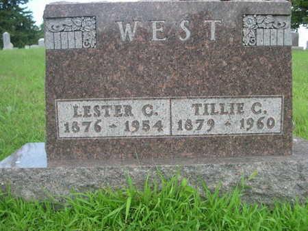 WEST, TILLIE C. - Dallas County, Iowa | TILLIE C. WEST