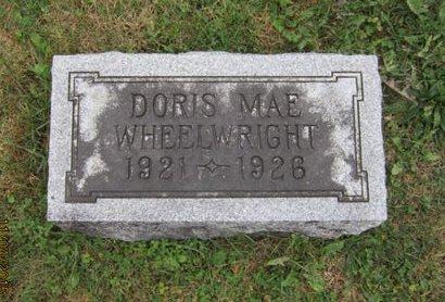 WHEELWRIGHT, DORIS MAE - Dallas County, Iowa | DORIS MAE WHEELWRIGHT