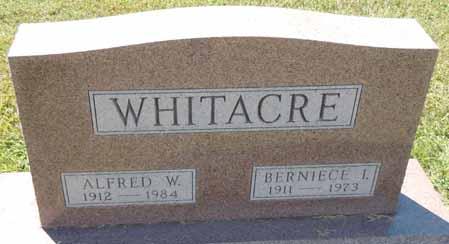 WHITACRE, AFRED W - Dallas County, Iowa   AFRED W WHITACRE