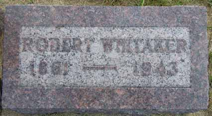 WHITAKER, ROBERT - Dallas County, Iowa | ROBERT WHITAKER