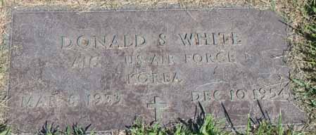 WHITE, DONALD S - Dallas County, Iowa | DONALD S WHITE