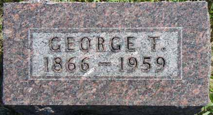 WHITE, GEORGE T - Dallas County, Iowa | GEORGE T WHITE