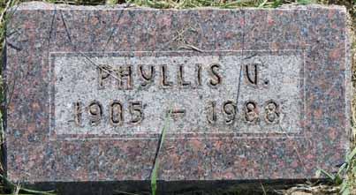 WHITE, PHYLLIS V - Dallas County, Iowa | PHYLLIS V WHITE
