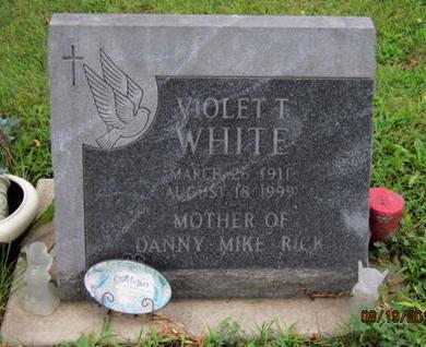 WHITE, VIOLET T - Dallas County, Iowa | VIOLET T WHITE