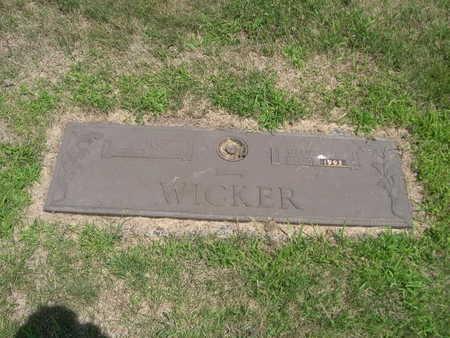 WICKER, E. JANE - Dallas County, Iowa | E. JANE WICKER