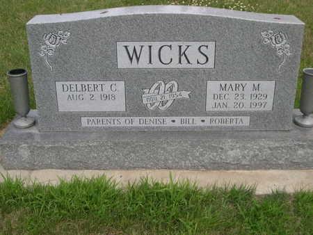 WICKS, MARY M. - Dallas County, Iowa | MARY M. WICKS