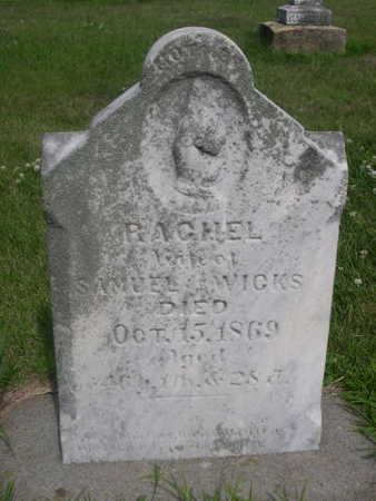 WICKS, RACHEL - Dallas County, Iowa | RACHEL WICKS