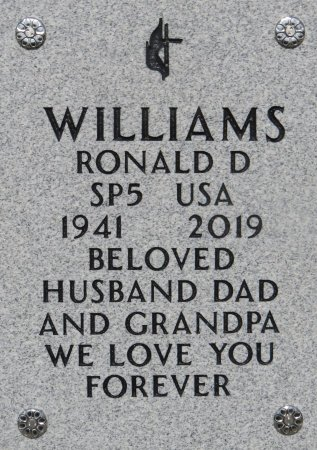 WILLIAMS, RONALD D - Dallas County, Iowa | RONALD D WILLIAMS
