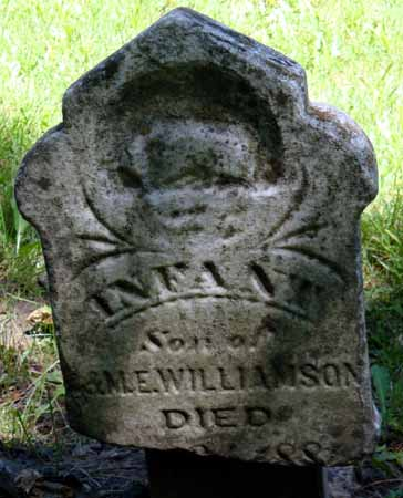 WILLIAMSON, INFANT - Dallas County, Iowa | INFANT WILLIAMSON