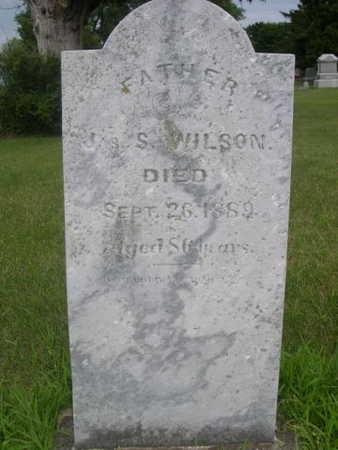 WILSON, JAS S. - Dallas County, Iowa   JAS S. WILSON