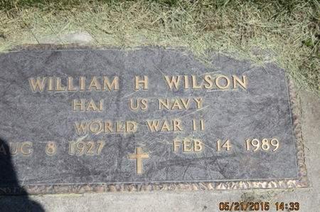 WILSON, WILLIAM H - Dallas County, Iowa | WILLIAM H WILSON