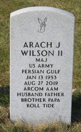 WILSON, ARACH J II - Dallas County, Iowa   ARACH J II WILSON