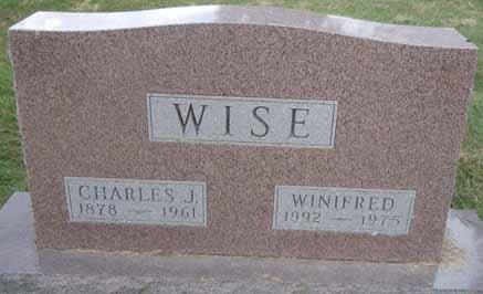 WISE, WINIFRED - Dallas County, Iowa | WINIFRED WISE