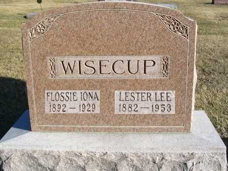 WISECUP, LESTER LEE - Dallas County, Iowa | LESTER LEE WISECUP