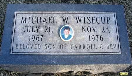 WISECUP, MICHAEL W. - Dallas County, Iowa | MICHAEL W. WISECUP