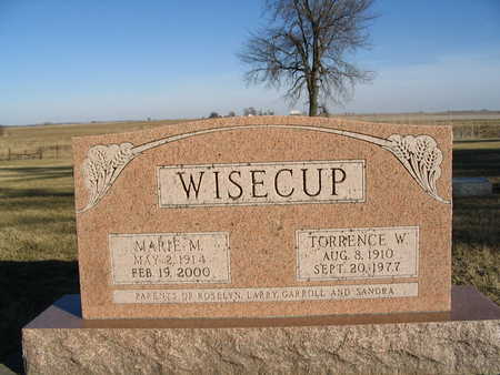 WISECUP, MARIE M. - Dallas County, Iowa | MARIE M. WISECUP