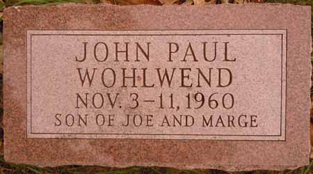 WOHLWEND, JOHN PAUL - Dallas County, Iowa | JOHN PAUL WOHLWEND
