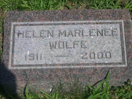 WOLFE, HELEN MARLENEE - Dallas County, Iowa | HELEN MARLENEE WOLFE