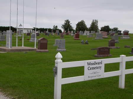 WOODWARD, CEMETERY - Dallas County, Iowa | CEMETERY WOODWARD