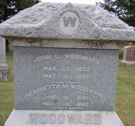 WOODWARD, JOHN L - Dallas County, Iowa   JOHN L WOODWARD