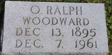 WOODWARD, O RALPH - Dallas County, Iowa | O RALPH WOODWARD