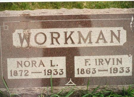 WORKMAN, FREDERICK IRVIN - Dallas County, Iowa | FREDERICK IRVIN WORKMAN
