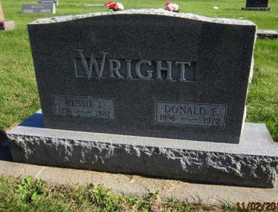 WRIGHT, DONALD E - Dallas County, Iowa   DONALD E WRIGHT