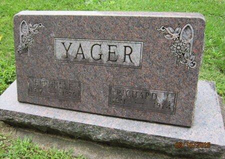 YAGER, RICHARD J - Dallas County, Iowa   RICHARD J YAGER