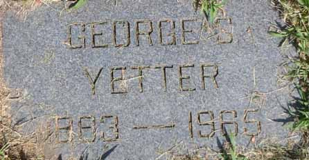 YETTER, GEORGE S - Dallas County, Iowa | GEORGE S YETTER