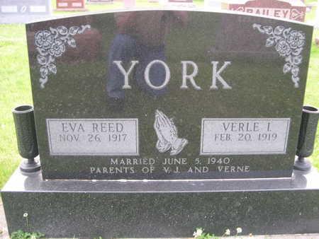 REED YORK, EVA REED - Dallas County, Iowa | EVA REED REED YORK