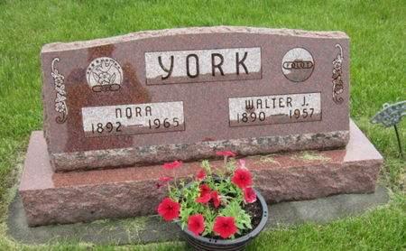 YORK, NORA - Dallas County, Iowa | NORA YORK