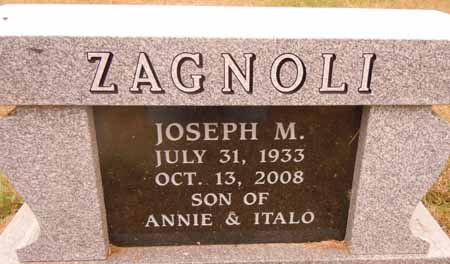 ZAGNOLI, JOSEPH M. - Dallas County, Iowa   JOSEPH M. ZAGNOLI