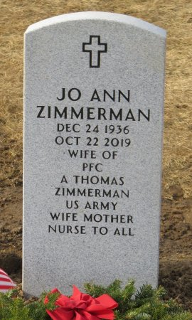 ZIMMERMAN, JO ANN - Dallas County, Iowa | JO ANN ZIMMERMAN