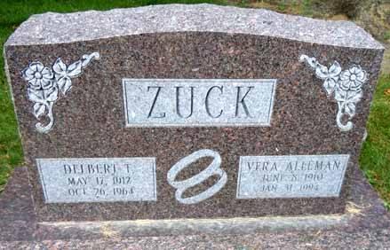 ZUCK, DELBERT T - Dallas County, Iowa | DELBERT T ZUCK