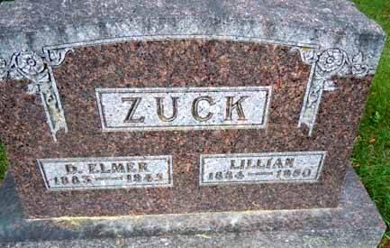 ZUCK, D ELMER - Dallas County, Iowa | D ELMER ZUCK