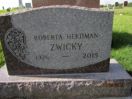 ZWICKY, ROBERTA - Dallas County, Iowa | ROBERTA ZWICKY