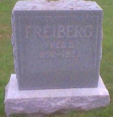 FREIBERG, FRED C. - Dallas County, Iowa | FRED C. FREIBERG