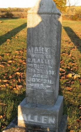 KNEDLER ALLEN, MARY V. - Davis County, Iowa | MARY V. KNEDLER ALLEN