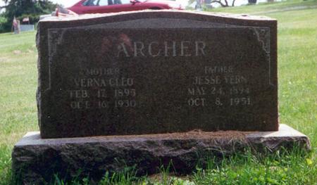 ARCHER, VERNA CLEO - Davis County, Iowa | VERNA CLEO ARCHER