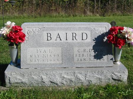 BAIRD, CHARLES RICHARD - Davis County, Iowa | CHARLES RICHARD BAIRD