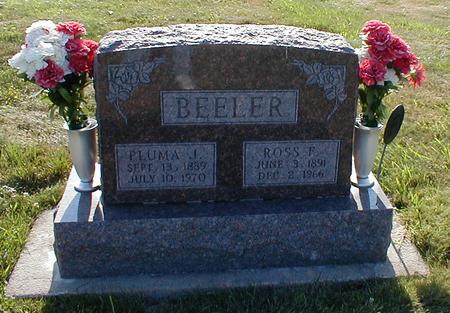TOWNSEND BEELER, PLUMA J. - Davis County, Iowa | PLUMA J. TOWNSEND BEELER