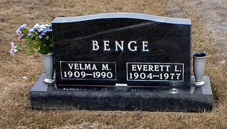 BENGE, EVERETT - Davis County, Iowa | EVERETT BENGE
