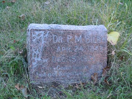 BILBY, DR. P.M. - Davis County, Iowa | DR. P.M. BILBY