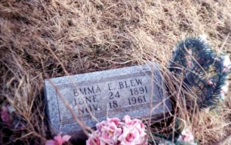 BLEW, EMMA E (SIMMONS) - Davis County, Iowa | EMMA E (SIMMONS) BLEW