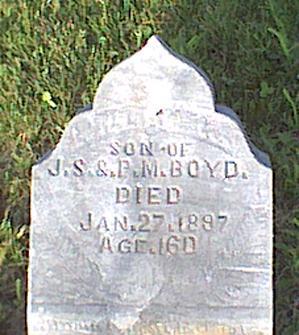 BOYD, WILLIAM K - Davis County, Iowa   WILLIAM K BOYD