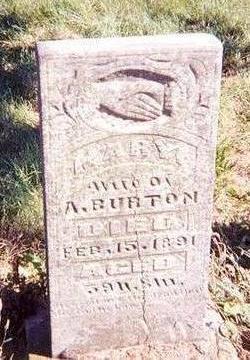 GARNER BURTON, MARY - Davis County, Iowa | MARY GARNER BURTON