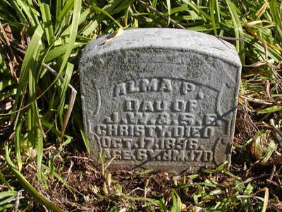 CHRISTY, ALMA P. - Davis County, Iowa | ALMA P. CHRISTY